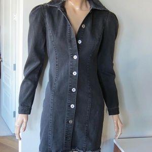 PISTOLA Black Denim Dress NWT Celeb Fav